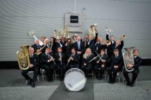 Kvadrat Musikkorps våren 2018